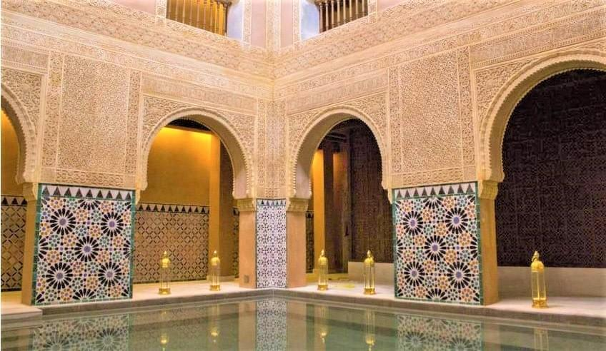 Moment détente  à Malaga au hammam - choses à faire