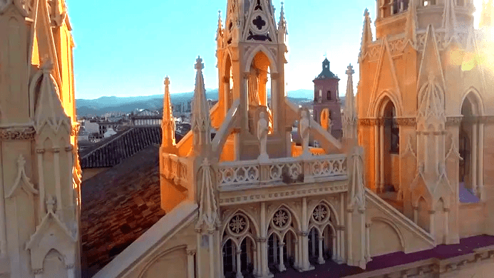 what to do in malaga - enjoy architecture