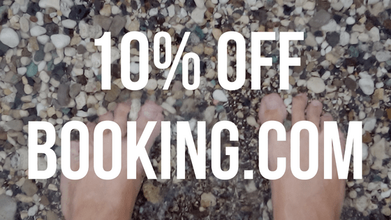 Book your hotel with booking.com and get 10% off on your next stay!