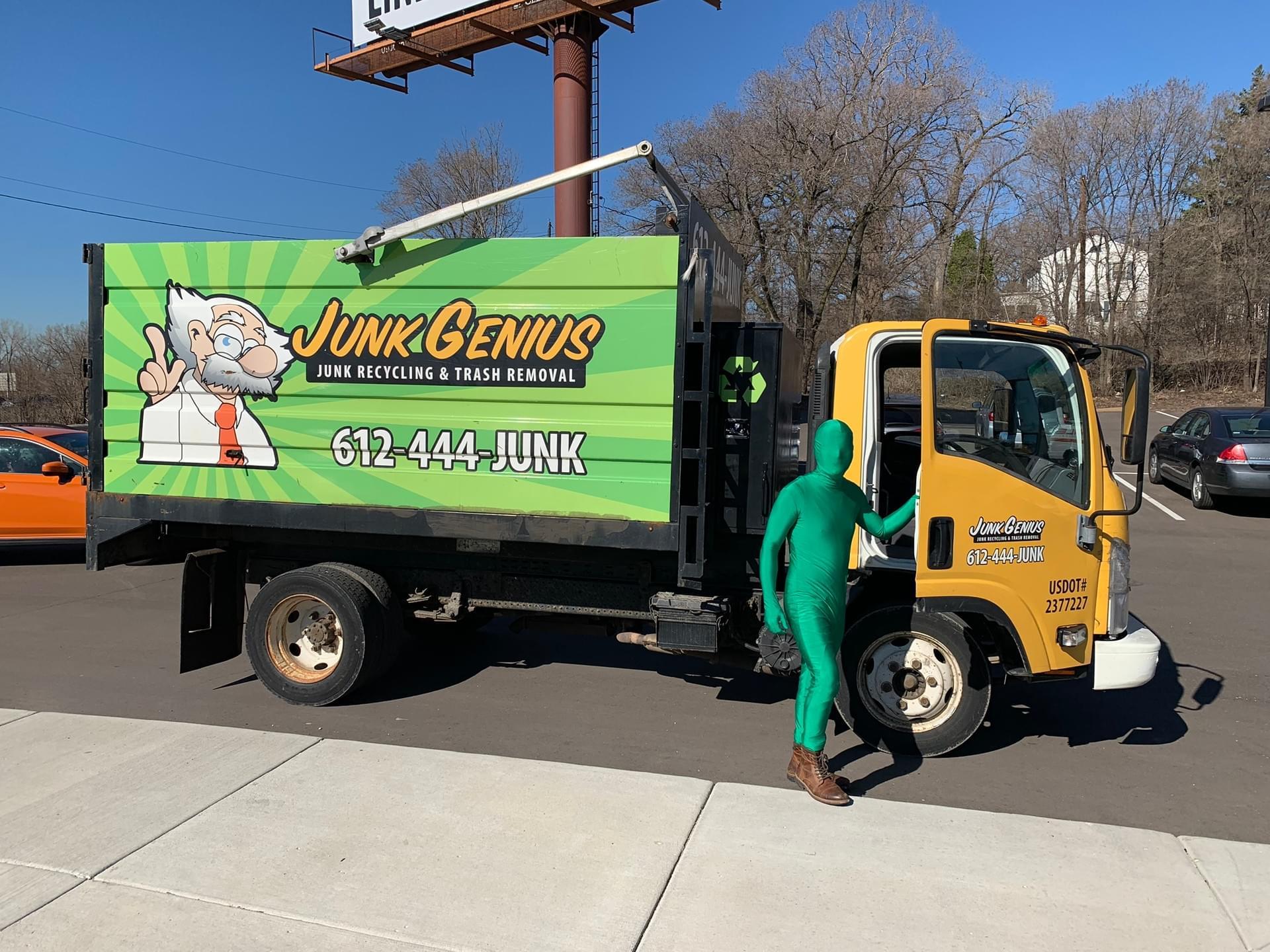 Twin Cities - Junk Genius Junk Removal