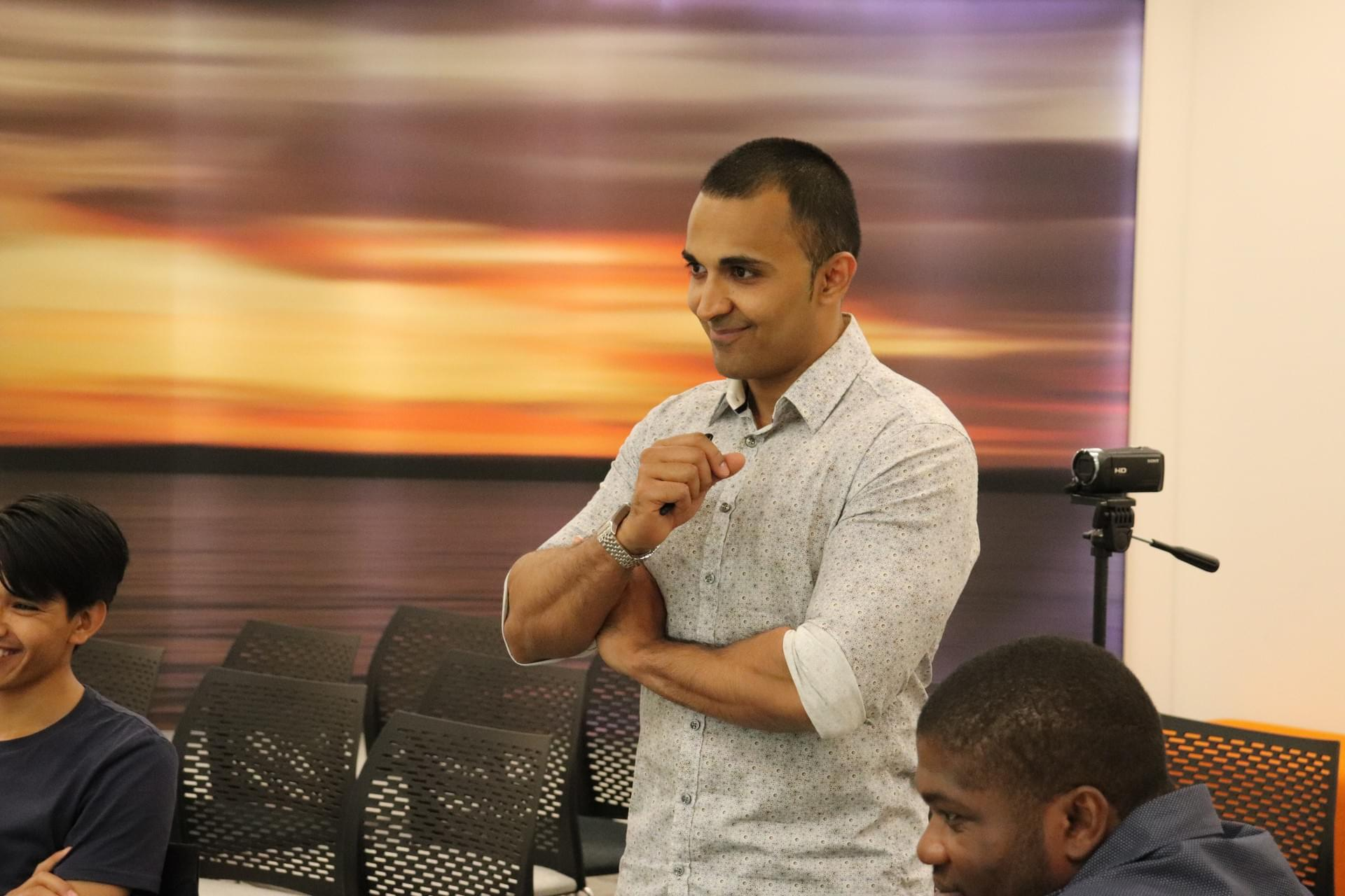 About Shil Shanghavi | Chatterbox Public Speaking