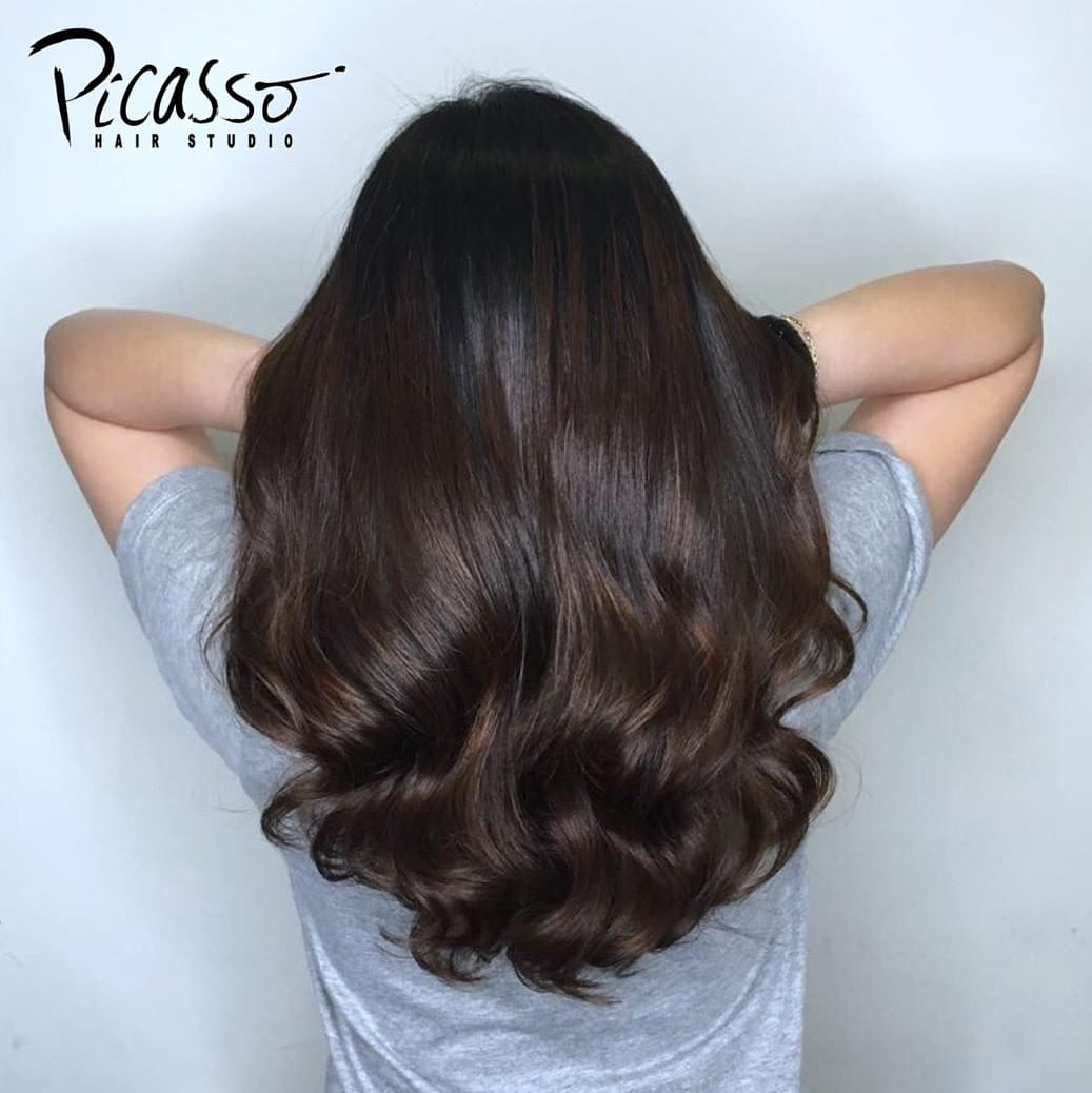 picasso hair studio | perm specialist | trendy hair color