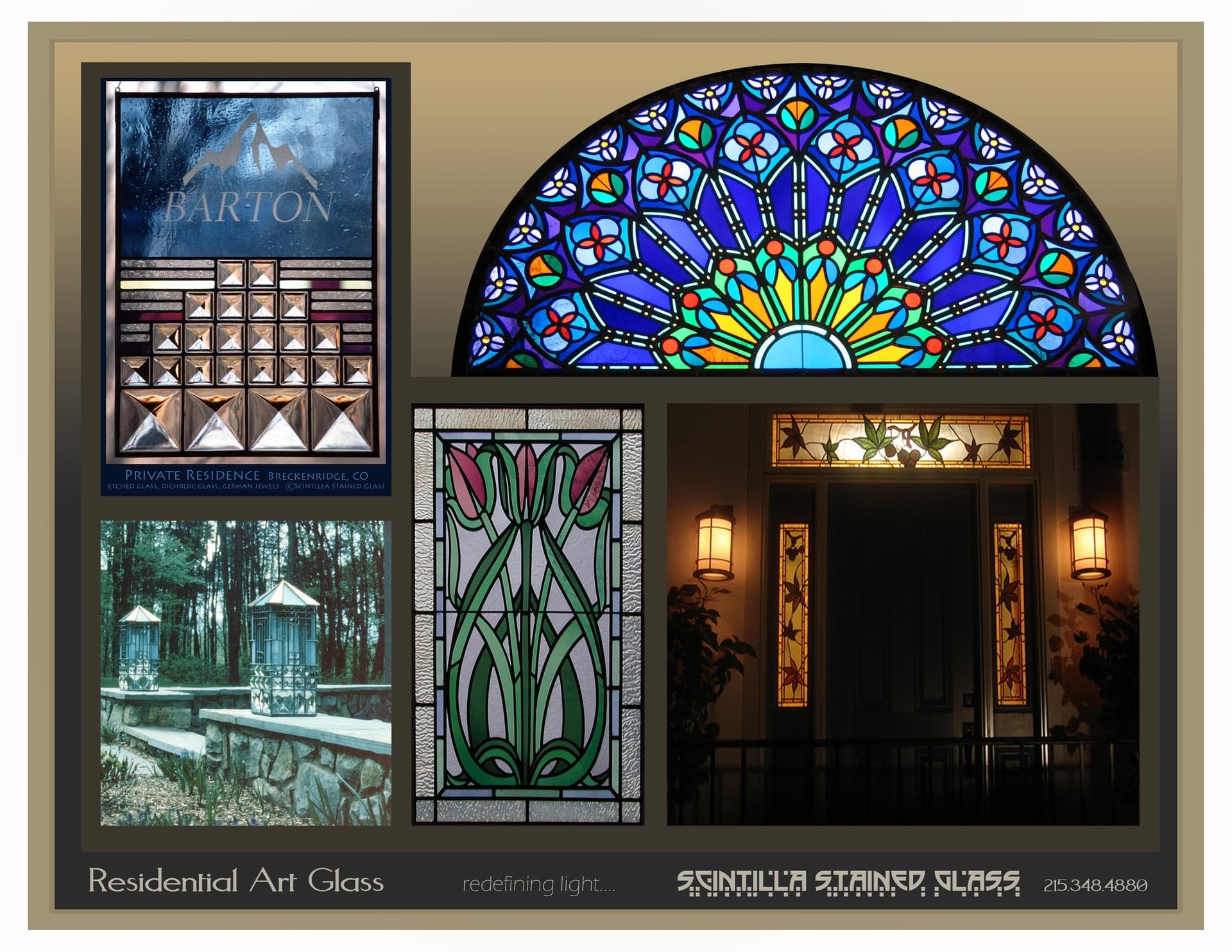 Scintilla Stained Glass