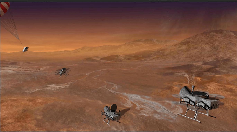 Humans to Titan