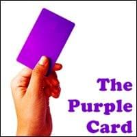 The Purple Card Possibility Management