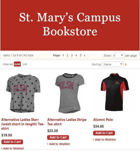 St. Mary's Bookstore