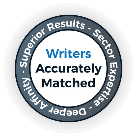 Accurately Matched Writers - English Perfected London