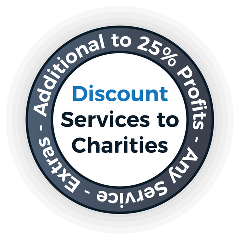 Discounts for Charities - English Perfected London