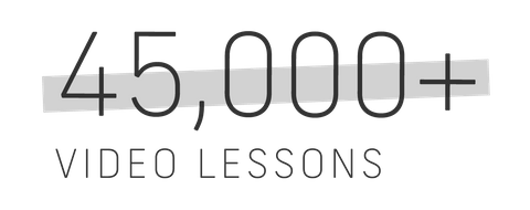 forty five thousand plus video lessons