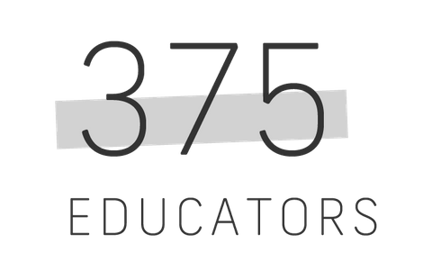 three hundred seventy five educators