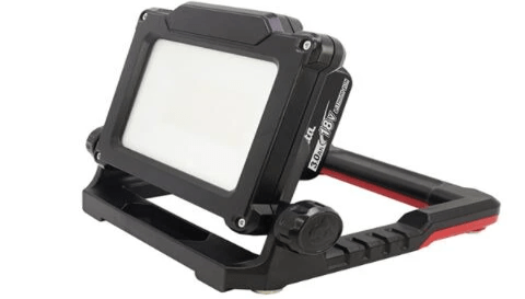 18V cordless/corded led flood light