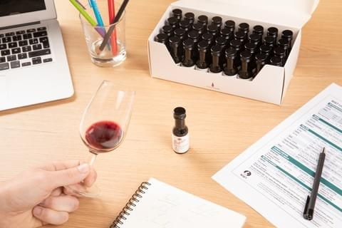 Tasting kits for wine courses - www.e-tasting.com