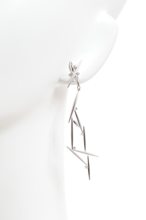 Neuron  Earring Jacket Set