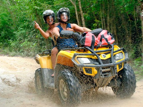 TOUR 4: ATV / CENOTE / TIROLESA -30 MAYO-