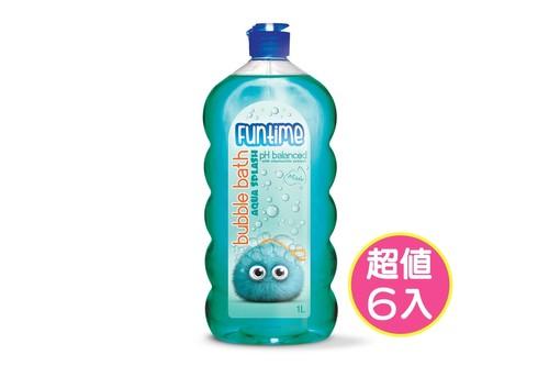 6入泡泡沐浴露1L