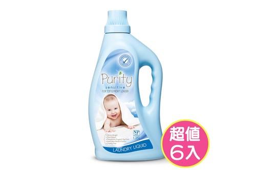 6入植粹嬰幼兒洗衣精(低敏)1.25L