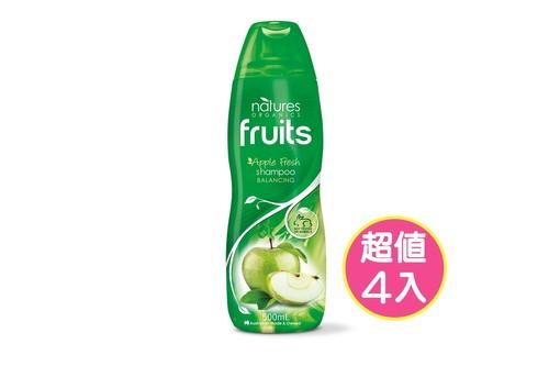 4入植粹平衡調理洗髮精(綠)500ml