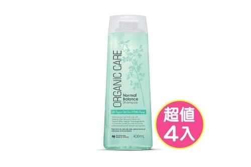 4入健康均衡洗髮精400ml