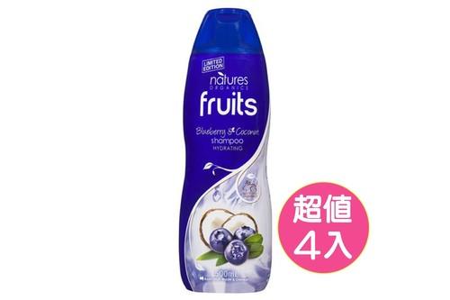 4入植粹滋養洗髮精(椰子藍莓)500ml