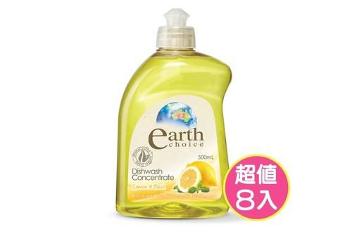 8入植粹濃縮洗碗精(檸檬羅勒)500ml