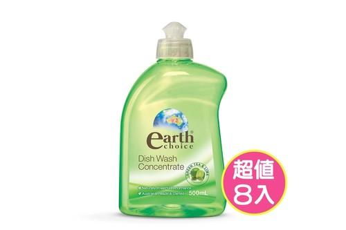 8入植粹濃縮洗碗精(綠茶萊姆)500ml