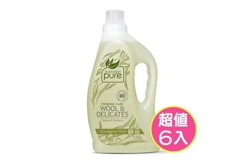 6入植粹精緻衣物洗衣精1.25L