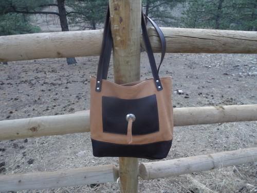 Large Western Tote Bag