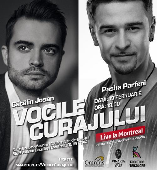 Vocile Curajului | 19 FEB | MONTREAL