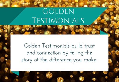 Golden Testimonials (The 3 Pack)