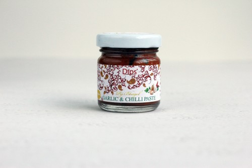 Garlic chilli pastes