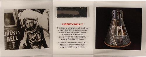 Mercury : Liberty Bell 7 Flown Film
