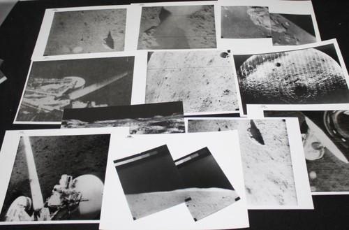 Surveyor I Vintage Lunar Photos