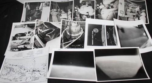 Mercury Atlas 5 NASA Glossy Photos