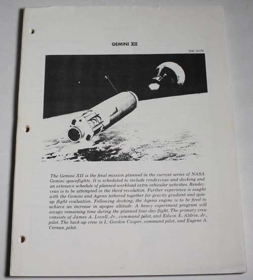 Gemini 12 News Reference