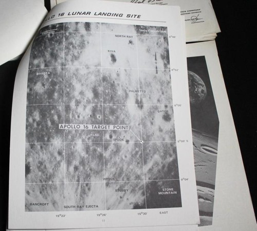 Apollo 12, 14, 16 & 17 McDonnell Information Booklets