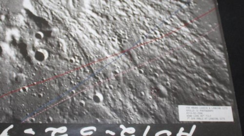 Apollo 14 Training Landing Site Photo Map, LMS