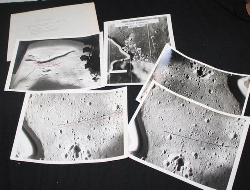Apollo 15 EVA Working Photos With Booklet