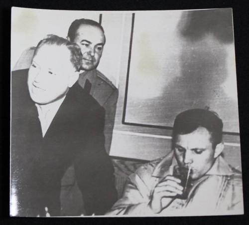 Yuri Gagarin Never-Published Launch Day Soviet Photo