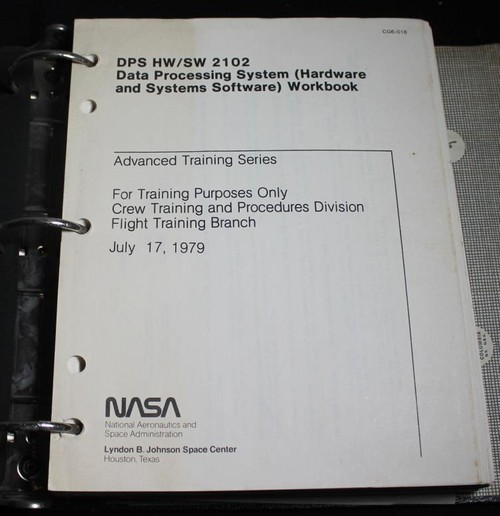 Shuttle Data Processing System Training Manual