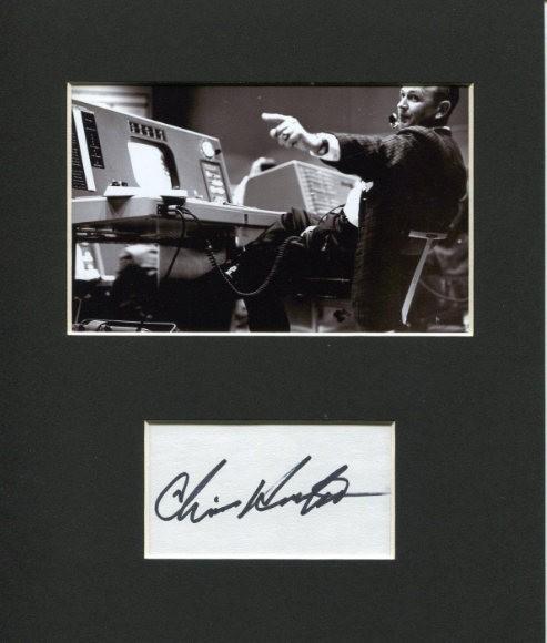 Chris KRAFT rare autograph