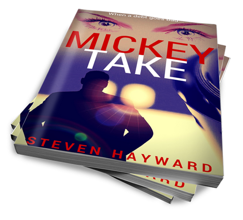 Mickey Take: When a debt goes bad... signed by the author!