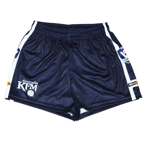 Senior Navy Blue Footy Shorts