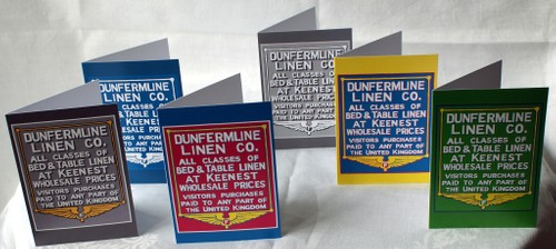 Dunfermline Linen Co (card)
