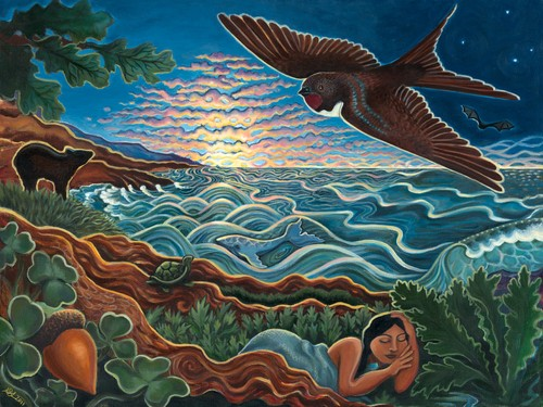 Acorn Woman Dreaming