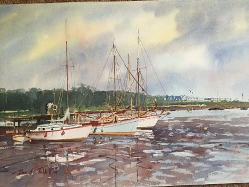 Woodbridge at low tide.
