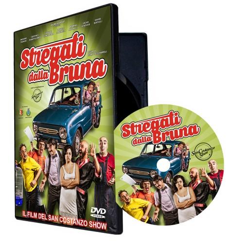 DVD STREGATI DALLA BRUNA  (SPEDIZIONE SOLO ITALIA)