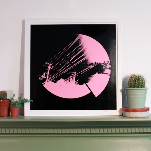 Split Skyline - Pink