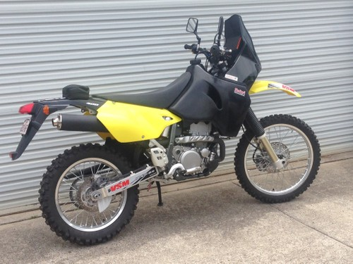 DRZ400 28l Long Range Safari Tank