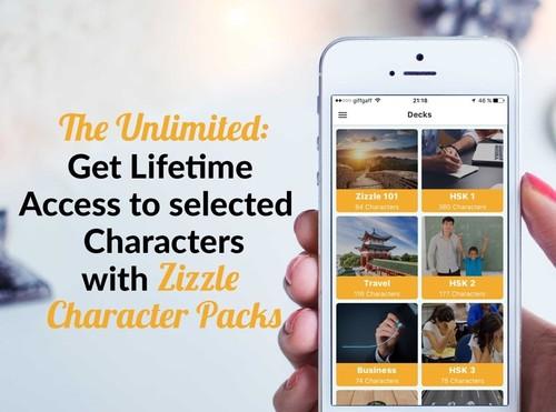 Zizzle Character Packs