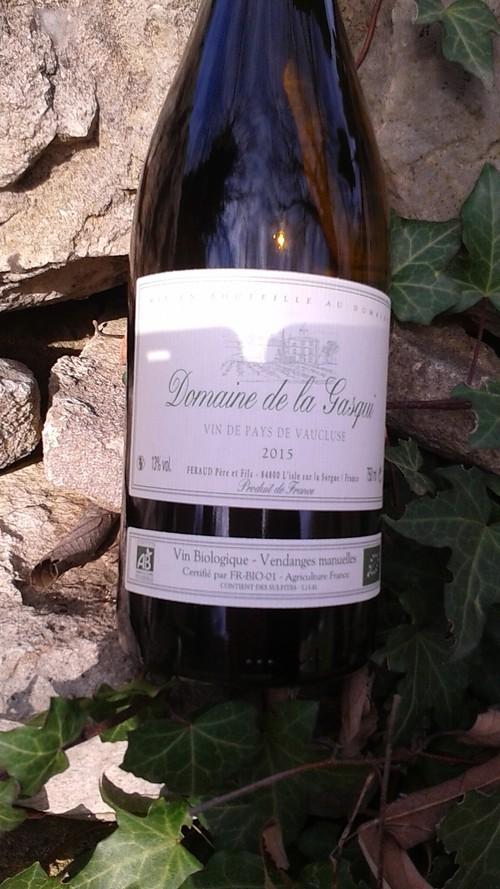 Domaine de la Gasqui IGP Vaucluse Rouge 100% Syrah 2017